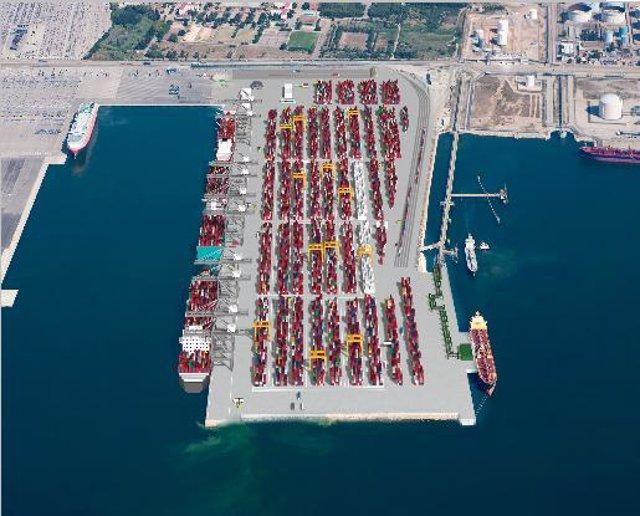 Terminal DP World Puerto de Tarragona