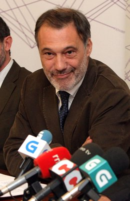 O conselleiro de Cultura e Turismo, Roberto Varela