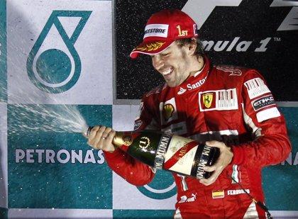 AMP.- Fórmula 1/GP Corea.- Fernando Alonso se impone en Yeongam y dinamita el Mundial