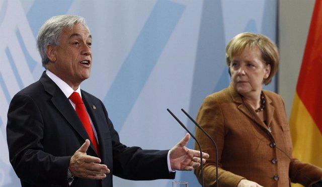 Sebastián Piñera en Alemania