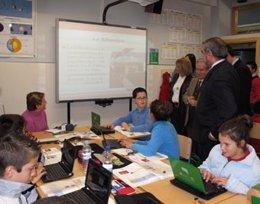 Un aula digital de Andalucía (Escuela TIC 2.0)