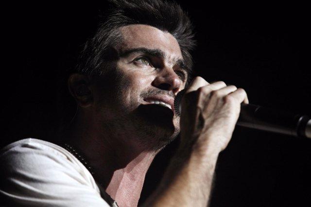 El cantante colombiano Juanes