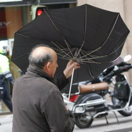 viento, lluvia, temporal