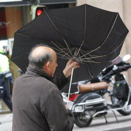 Un total de 39 provincias están hoy en alerta por lluvias, viento o fuerte oleaje