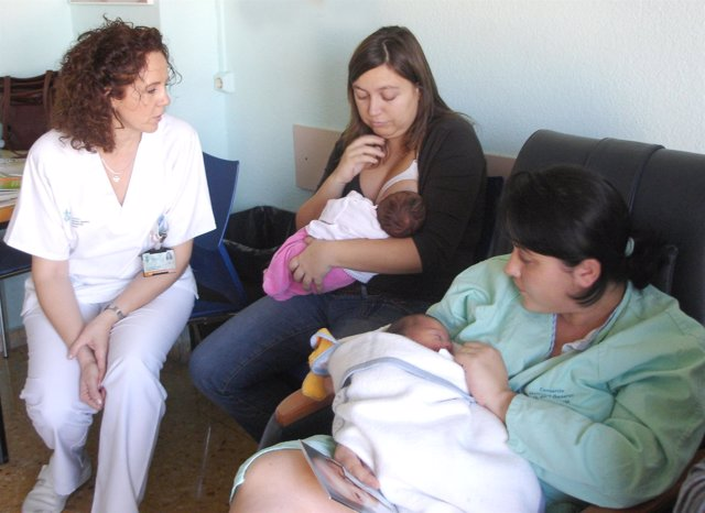 Taller de lactancia materna