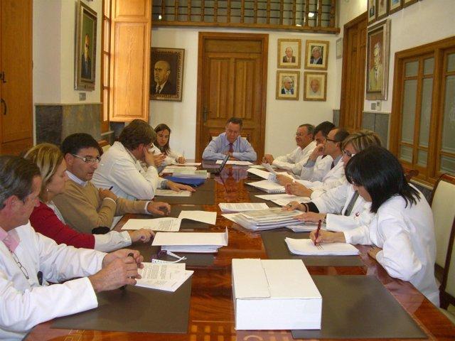 Reunión del Comité de Ética del Provincial de Castellón