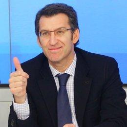 Líder del PP de Galicia, Alberto Núñez Feijóo