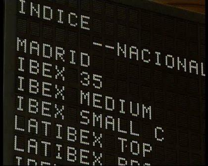 Economía/Bolsa.- El Ibex 35 pierde un 1,1% en la apertura de la sesión y baja hasta los 10.300 puntos