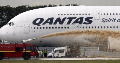 Qantas mantendrá en tierra sus A380 durante 72 horas más