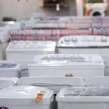 Economía/Consumo.- Las ventas de electrodomésticos caen un 3,4% hasta octubre