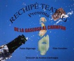 Cartel 'De la gaseosa al champán'