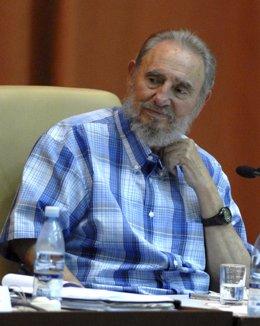 Líder cubano Fidel Castro
