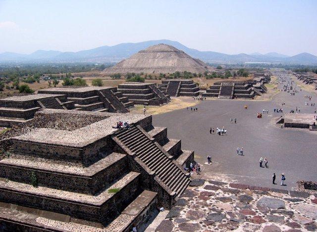 Teotihuacán, azteca