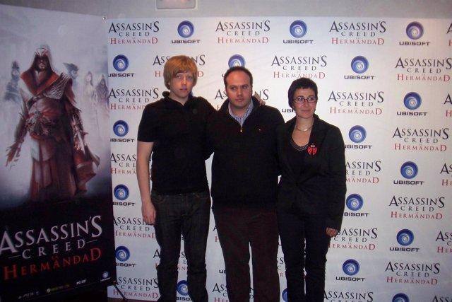 presentación Assassin Creed por Antonio Garcia