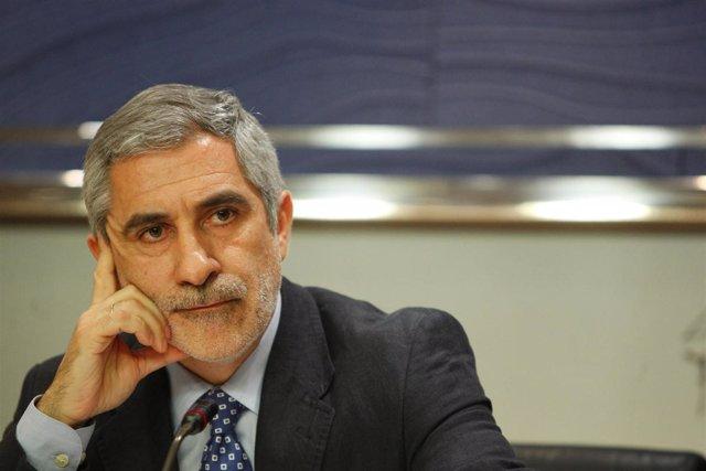 Diputado de Izquierda Unida, Gaspar Llamazares