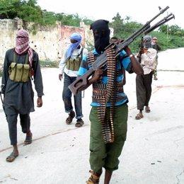 Terroristas en Somalia