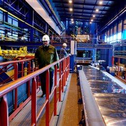 arcelor recurso fabrica acero