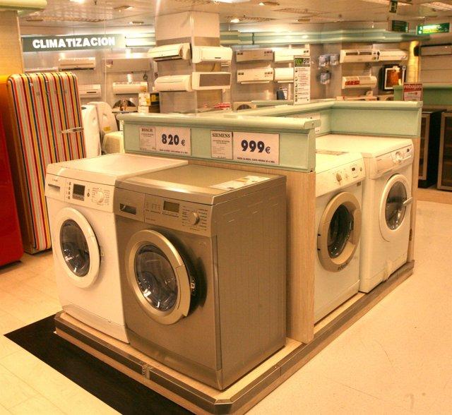 Electrodoméstico, lavadora