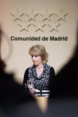 Aguirre en rueda de prensa posterior al Consejo de Gobierno