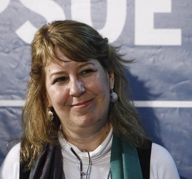 Maru Menéndez, portavoz del PSOE en la Asamblea de Madrid