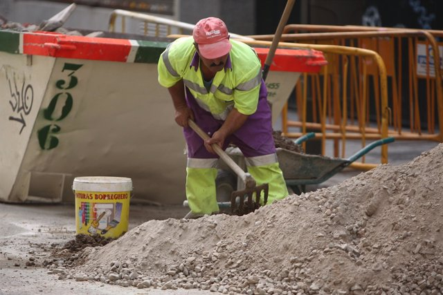 Gente trabajando