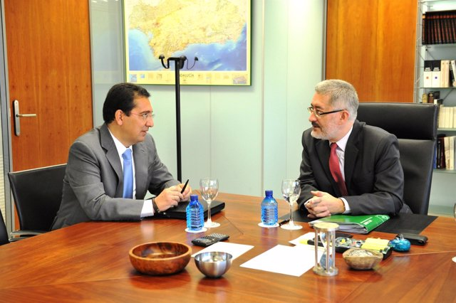 Antonio Pulido y Antonio Ávila