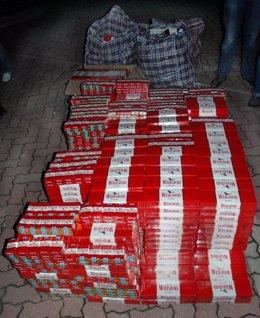 Tabaco de contrabando en Cádiz