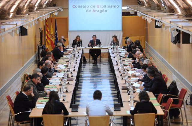 Sesión constitutiva del nuevo Consejo de Urbanismo de Aragón