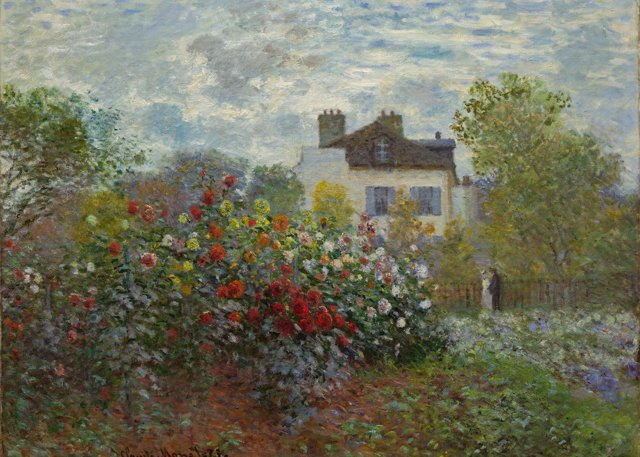 La casa del artista de Monet