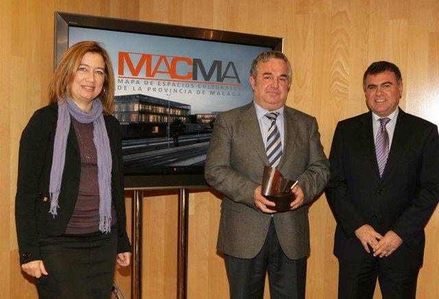 Presentación del premio progreso 2010 otorgado al Mapa de los Espacios Culturale