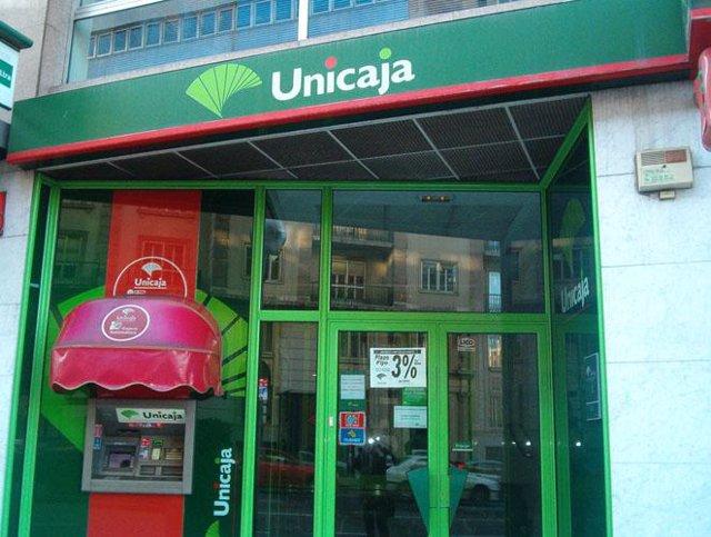 Recurso de una sede de Unicaja