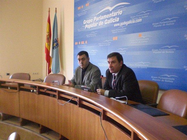 Manuel Ruiz Rivas, portavoz parlamentario del PPdeG