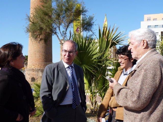 El portavoz del grupo Iu en el Ayuntamiento de Málaga, Pedro Moreno Brenes, este