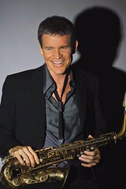 El saxofonista norteamericano David Sanborn.