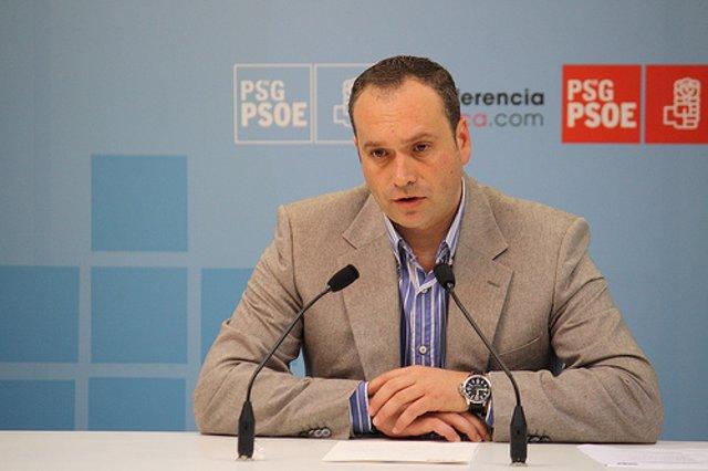 Pablo García, secretario de Organización del PSdeG