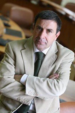 El portavoz parlamentario del PPdeG, Manuel Ruiz Rivas