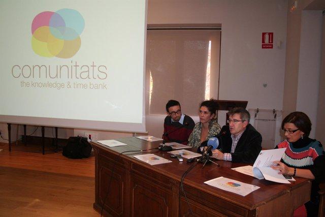 Presentación en León de Comunitats