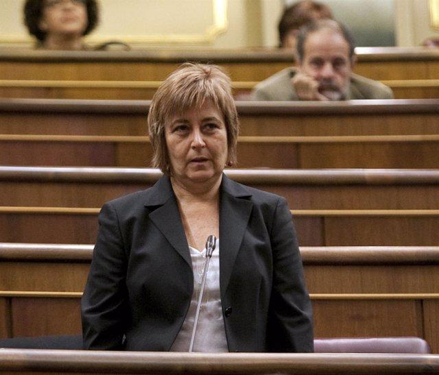 Nuria Buenaventura, diputada de ICV en el Congreso
