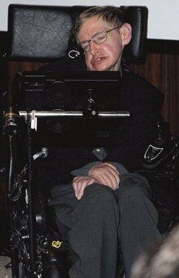 Stephen Hawking,  enfermo de ELA