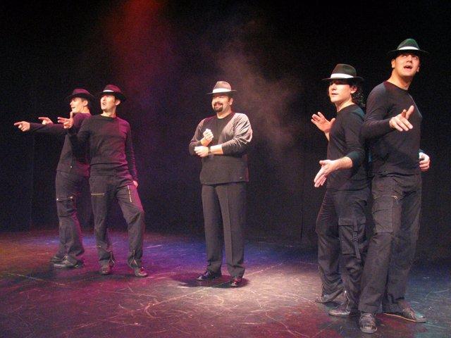 B Vocal durante la representación de 'Érase una voz... la Historia'