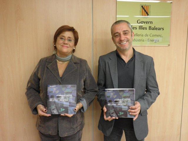 Francesca Vives y Àngel Pujol presentan ayudas