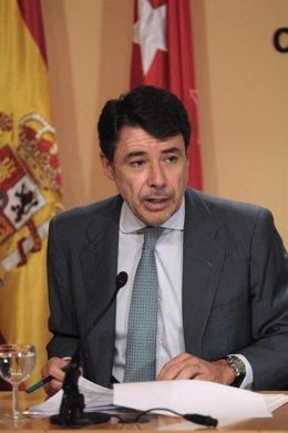 El vicepresidente de la Comunidad de Madrid, Ignacio González