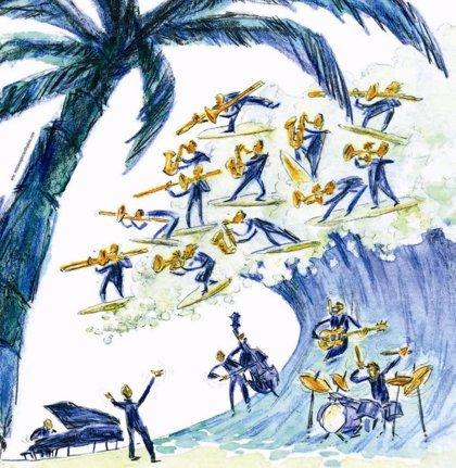 La Big Band de Canarias presenta este martes en el Auditorio de Tenerife su nuevo espectáculo, 'Atlántida'