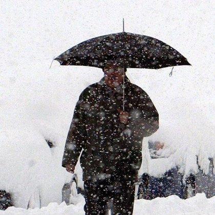 Alerta por nieve y viento en ocho provincias