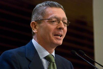 """Economía.- Gallardón: """"La crisis ha confirmado que España necesita con urgencia reformas numerosas y profundas"""""""