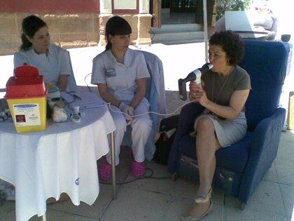 El hospital USP San Carlos realizará este miércoles espirometrías gratuitas en su servicio de Urgencias