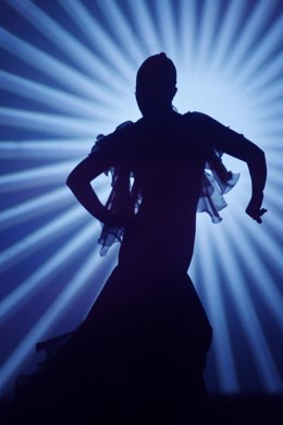 Una bailaora de flamenco