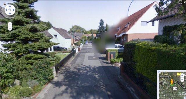 Google Street View permite eliminar parte de la imagen