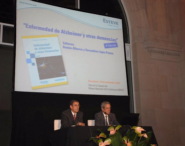Presentación del libro Enfermedad de Alzheimer y otras demencias