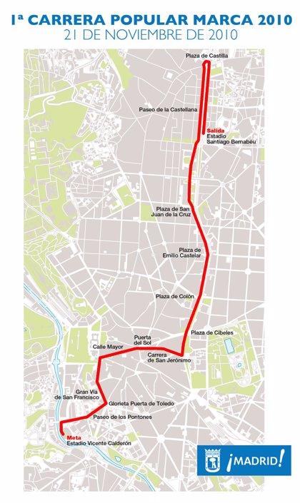 El Ayuntamiento recomienda usar el transporte público para evitar los cortes de tráfico causados por la Carrera Marca